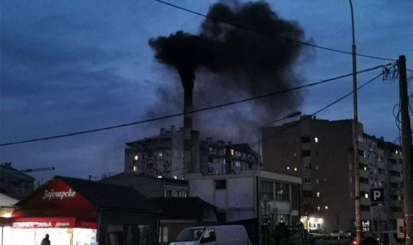 Energetika po ko zna koji put zacrnela nebo iznad Kragujevca (FOTO)