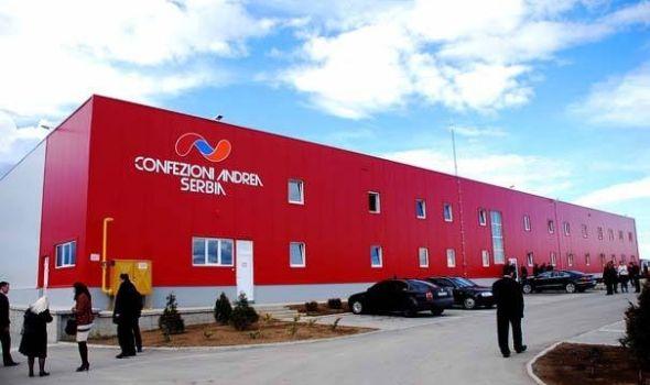 "Posao u kompaniji ""Confezioni Andrea Serbia"""