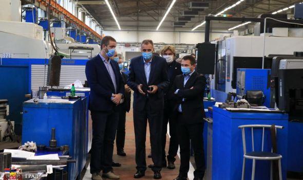 Dašić obećava: Obezbedićemo uslove svim perspektivnim kompanijama u Kragujevcu
