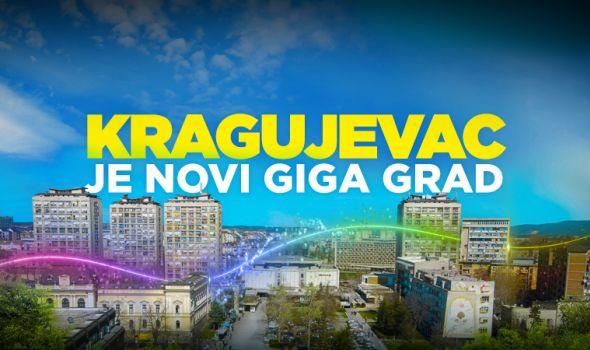 Kragujevac je novi GIGA grad, SBB besplatna digitalizacija se nastavlja