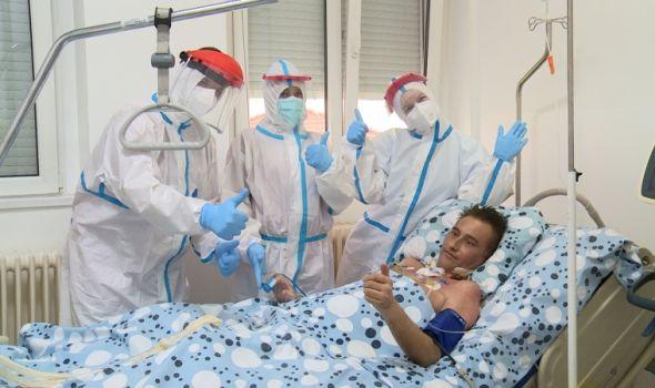 Medicinski tim UKC Kragujevac sačuvao život Aranđelovčaninu, koji je zbog Korone proveo 75 dana na respiratoru