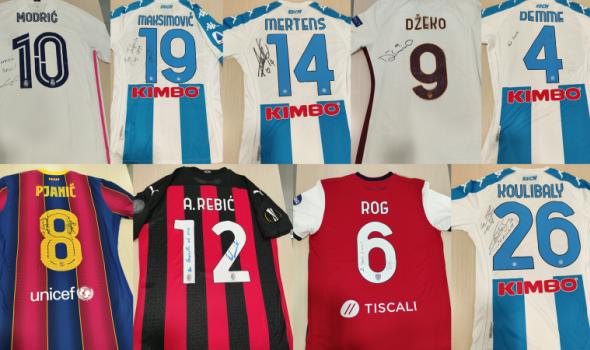 Svetski igrači poklonili dresove za pomoć malom Gavrilu