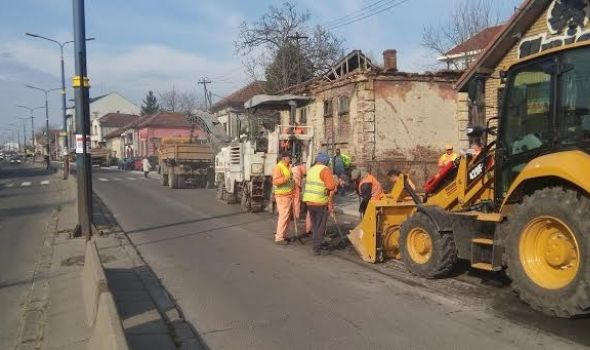 Radi se punom parom: Rekonstrukcija kragujevačkih ulica