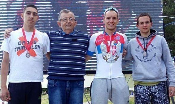 Trakić pobednik Prvenstva Srbije u kros triatlonu