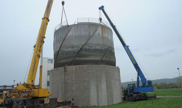 Radovi na adaptaciji rezervoara biogasa: Uz grejanje, moguća ponovna proizvodnja struje