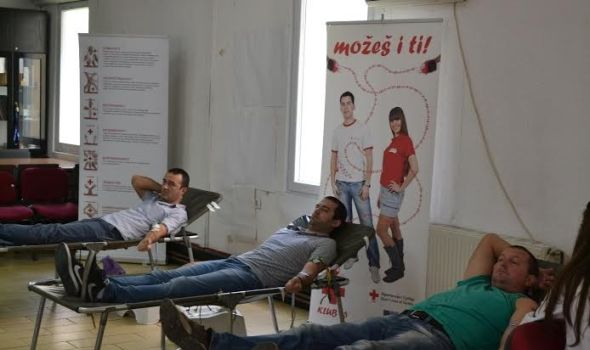 Prilika za humanost: Akcija dobrovoljnog davanja krvi u Kancelariji za mlade