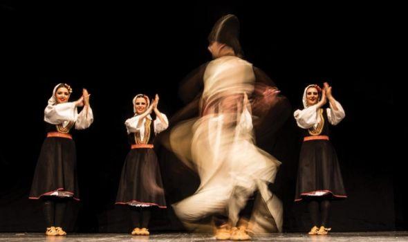 """Promocija Akademskog folklornog ansambla """"Svetozar Marković"""" u """"Plazi"""""""