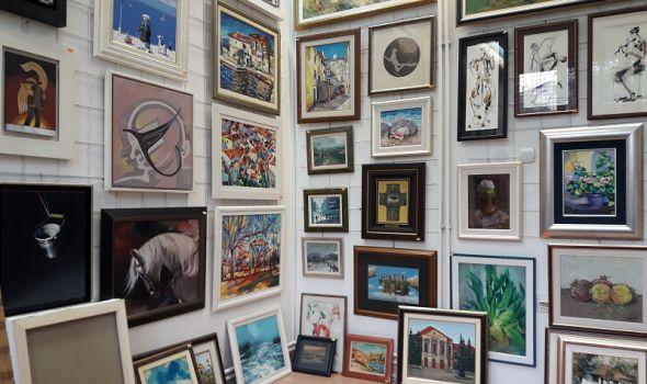 Izložba osnivača zavičajnog udruženja Likovnih umetnika Kragujevca u galeriji Art
