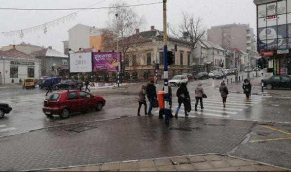 U Kragujevcu svi putevi prohodni, narednih dana obilnije padavine