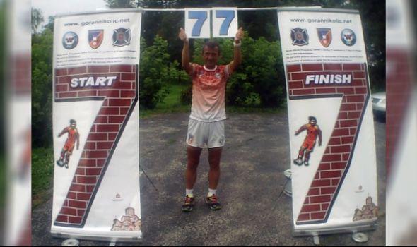 Za GINISA: Kragujevački paraolimpijac Goran Nikolić uspešno istrčao 77 maratona za 77 dana u Čikagu (FOTO/VIDEO)