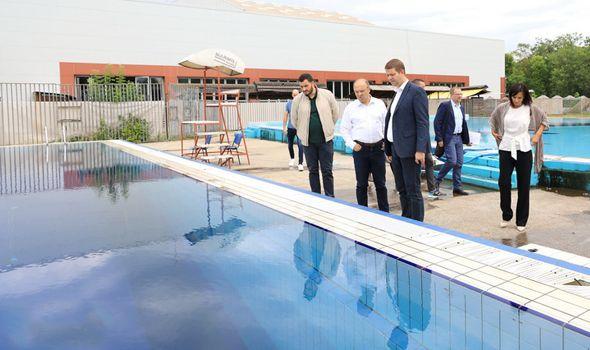 Uraković najavio uređenje gradskih bazena i Šumaričkog jezera