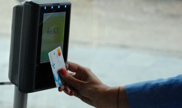 Plaćanje gradskog prevoza Mastercard KARTICAMA, promo cena 1 DINAR