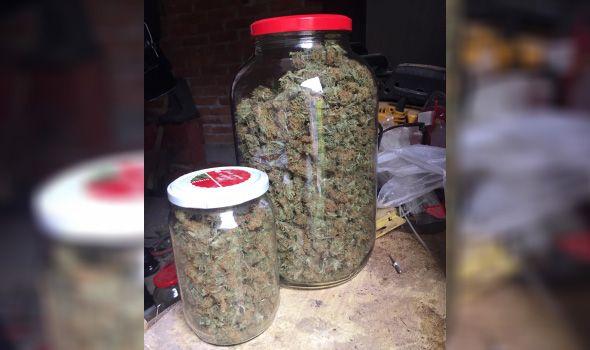 HAPŠENJE: Policija mu u kući pronašla 1,7 kilograma marihuane