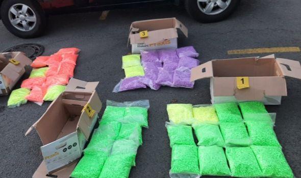 Zaplenjeno 120 kilograma supstance MDMA, među četvoro uhapšenih i Kragujevčanin (FOTO)