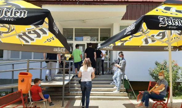 U Kragujevcu više pozitivnih među retestiranima nego novoobolelih