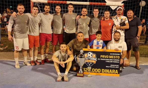 IndexPizza pobednik turnira u Malim Pčelicama (FOTO)