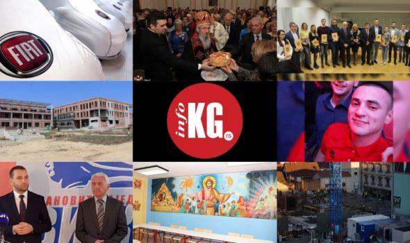 """InfoKG 7 dana: Fiat, nesreća, Sveti Sava, Centri izvrsnosti, nestanak, """"Svi na ovu stranu"""", kabinet, Parking garaža..."""