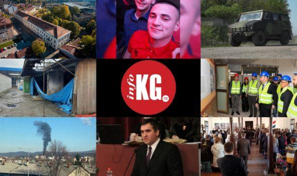 """InfoKG 7 dana: Novi smer, potraga, kragujevački """"Hamer"""", raspust, Autobuska stanica, požar, Nikolić, Sretenje..."""
