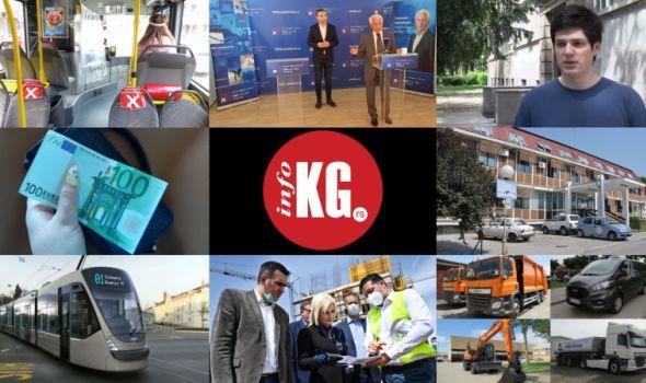 "InfoKG 7 dana: Korona, gradski prevoz, Barać, 100€, ""Siemens"", ministarka, nova vozila..."