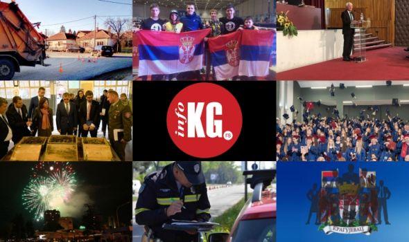 InfoKG 7 dana: Inspektor, nesreća, učenici Prve gimnazije, budžet, novogodišnji program, vozači, najmoćniji...