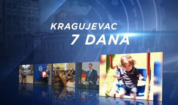 InfoKG 7 dana: Oštećene ulice, Vučić najavio da najbolje vreme za Kragujevac tek dolazi, bura oko novca za Gavrila