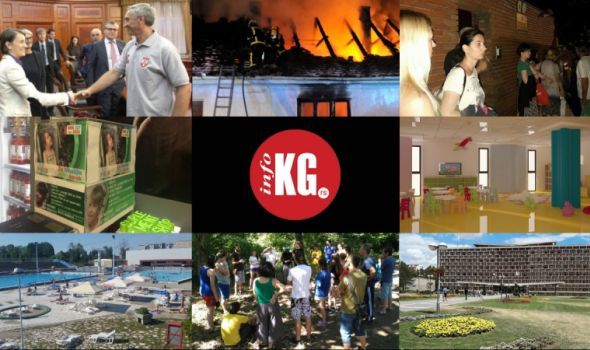 InfoKG 7 dana: Novi model, Fiat, požari, turisti, pomoć, Aviončić, sednica SG…