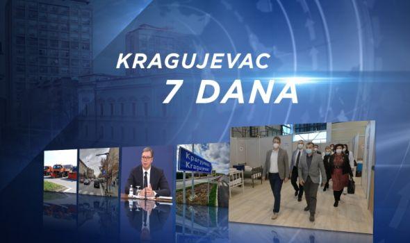 InfoKG 7 dana: Objavljene lokacije sa nadzornim kamerama, Vučić: Striktno poštovati mere, konačno završen put, privremena bolnica spremna za pacijente...