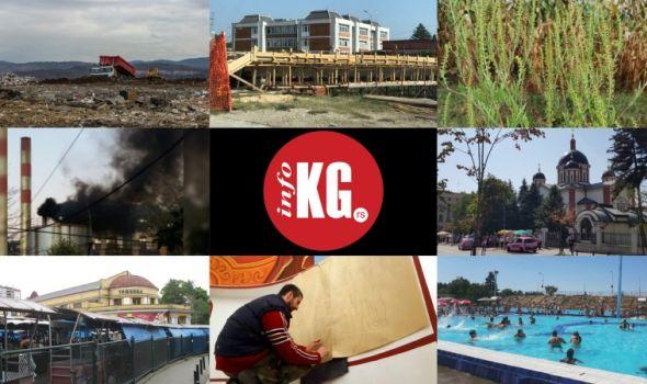 InfoKG 7 dana: Deponija, Ćiftina ćuprija, ambrozija, zagađenje, Gospojinske svečanosti, Zelena pijaca, Fiat, Jovanovački hram...