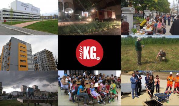 InfoKG 7 dana: Fiat, požar, Gospojinske svečanosti, Data centar, arheolozi, Palata pravde…