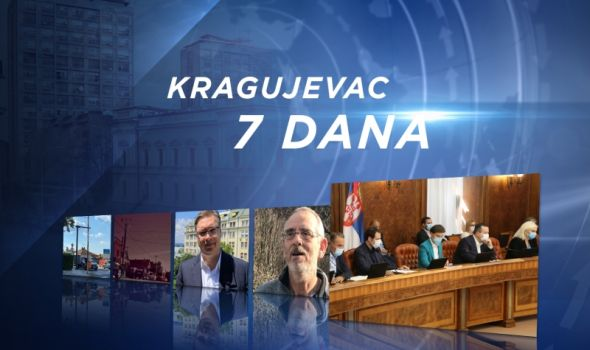 InfoKG 7 dana: Vučić najavio nove investicije za Kragujevac, Arsenijevićevi saveti za borbu portiv Korone