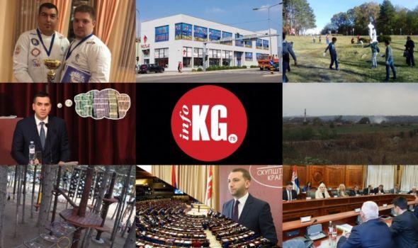 InfoKG 7 dana: Kulinari, milijarde, požari, dinosaurus, Urošević, skener…
