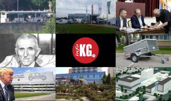 InfoKG 7 dana: Sajmovi, senior kartice, tužba, Tramp – Fiat, borovi, Klinički centar…