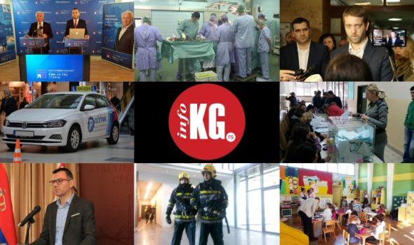"""InfoKG 7 dana: """"Svi na ovu stranu"""", hirurgija, Nikolićev kum, izbori, Stojadinović, vatrogasci, vrtići..."""
