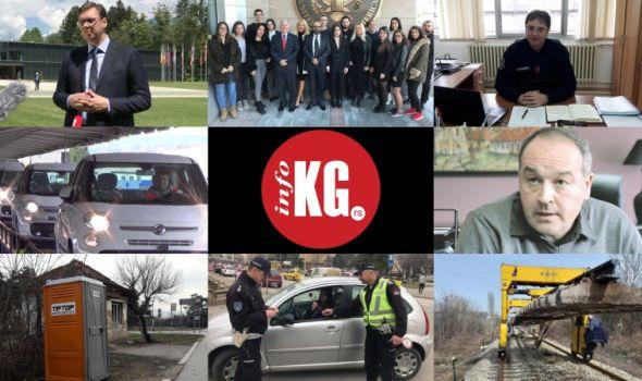 InfoKG 7 dana: Vučić, Skat, skener, vatrogasci, Raonić, mobilni toaleti, 8. mart, pruga, protest...