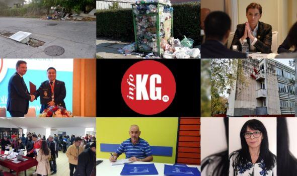 InfoKG 7 dana: Kada, reciklaža, Kina, GAS, požar, zapošljavanje, super deka, Ana Marković...