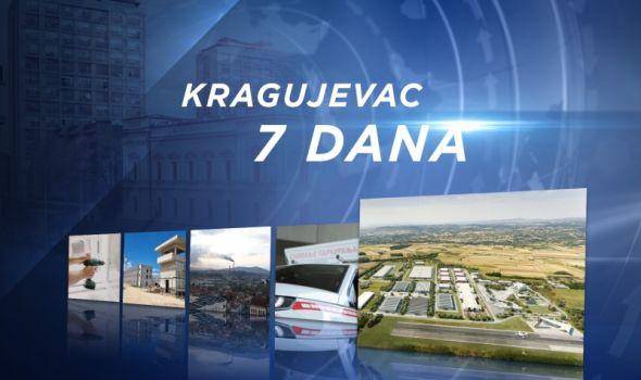 """InfoKG 7 dana: U toku konkurs za zamenu stolarije, novi kotlovi u Energetici, """"Scan car"""", Kragujevac dobija aerodrom..."""