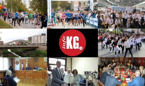 InfoKG 7 dana: Oktobarska trka sećanja, polumaraton, kulinari, Kameni most, Klinički centar, 55 ulica...