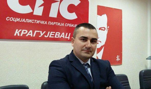 IVICA MOMČILOVIĆ: SPS garantuje političku sigurnost, Kragujevčani uvek moraju da budu na dobitku
