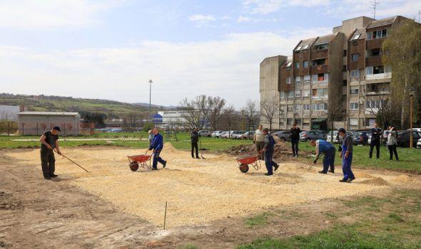 Počela izgradnja novog igrališta u Ljubinim livadama