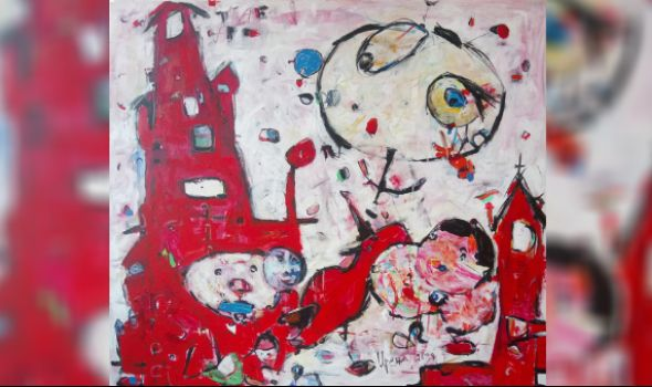 Izložba slika Irene Nikolić u Malom likovnom salonu