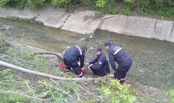 Zaštita od požara: Održan trening Specijalizovane jedinice civilne zaštite (FOTO)