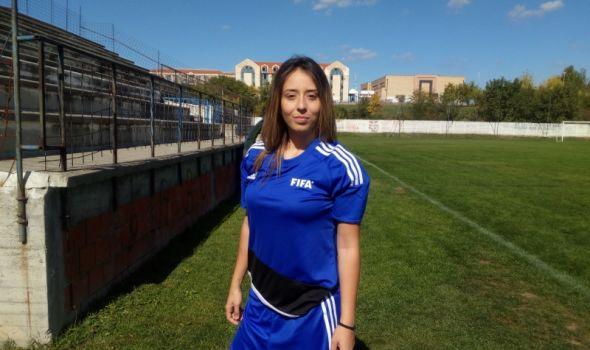Jelena Miloradović: Živi za to da postigne gol, pa ne misli da je fudbal samo muški sport