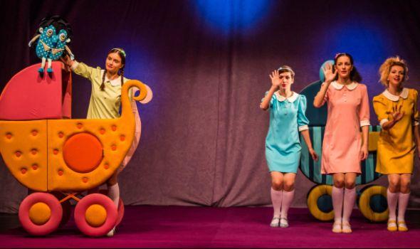 """Predstava """"Ježić Žožo"""" u Pozorištu za decu"""