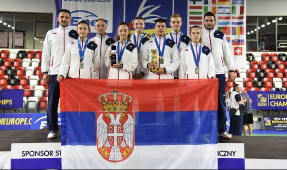 Jovičić sa badminton reprezentacijom Srbije osvojio vicešampionsku titulu u Poljskoj