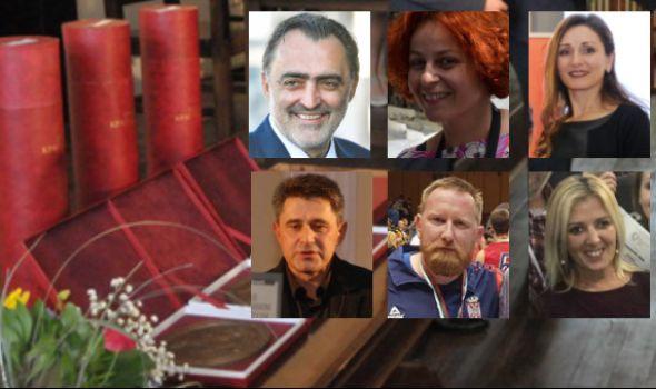 Proglašeni dobitnici Đurđevdanske nagrade: Milanović, Veljković, Dimitrijević, Demić, Otović i Tijanić