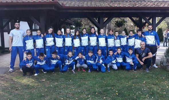 Karatistima Juniora pet medalja na Kupu Srbije