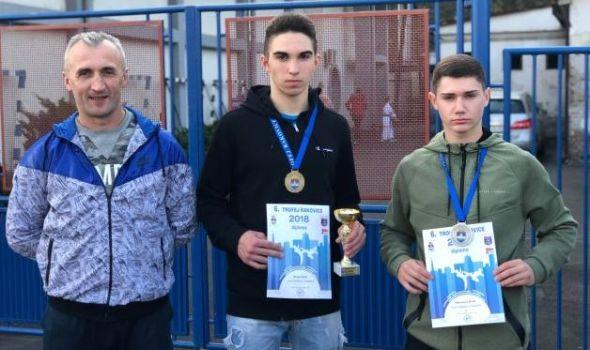 """Karatistima """"Junora"""" dve medalje na """"Trofeju Rakovice"""""""