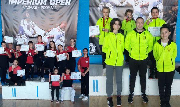 Kragujevački tekvondisti osvojili 14 medalja u Beogradu