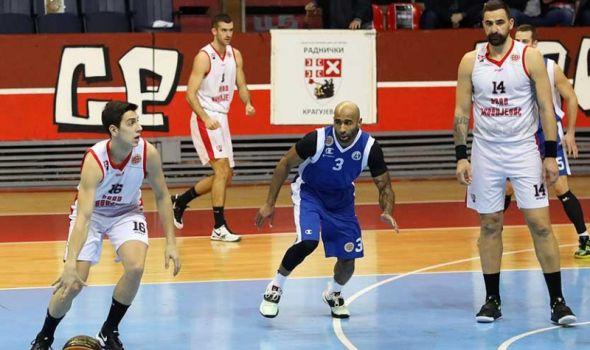 Košarkaši Radničkog nemoćni u duelu sa liderom