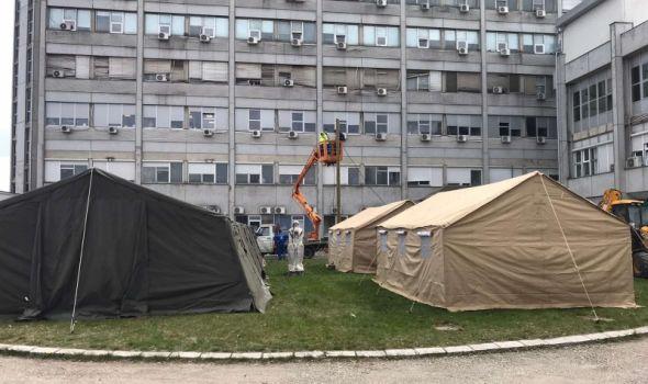 U KC Kragujevac hospitalizovana 102 pacijenta zaražena Korona virusom, 15 izlečeno i isto toliko preminulo
